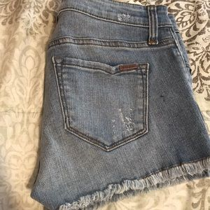 STS Blue Shorts - STS BLUE Frayed Hem Boyfriend Shorts